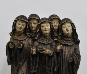 Five Nuns from Burrell Collection, Glasgow