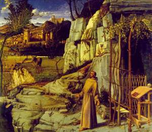 Bellini,_Giovanni_~_St_Francis_in_the_Desert,_c1480,_Tempera_and_oil_on_panel_Frick_Collection,_New_York