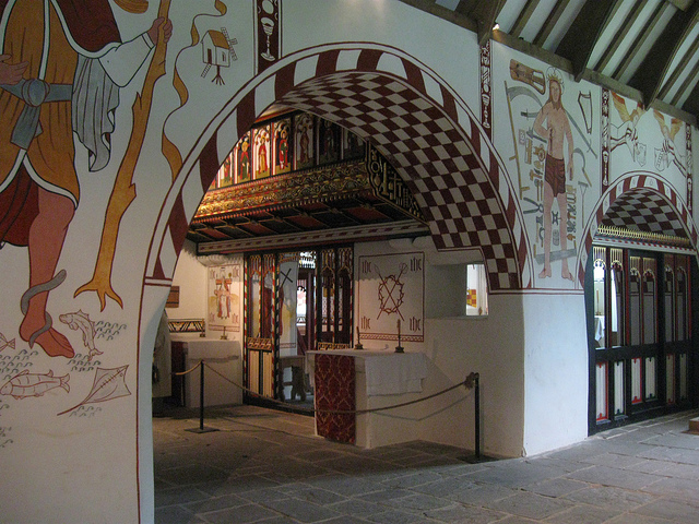St Teilo's church, Welsh National History Museum. (picture by Jacqueline Sheldon)
