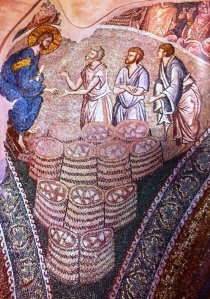 Chora, Multiplication of the loaves (Underwood)