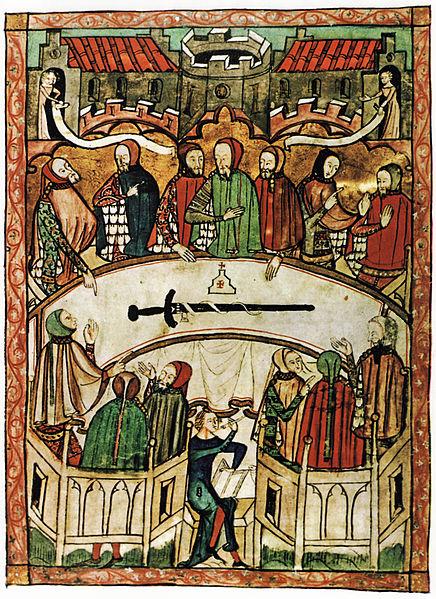 Image result for medieval manuscript justice