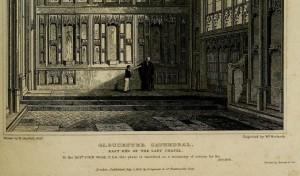 Gloucester Lady chapel (Britton 1828)