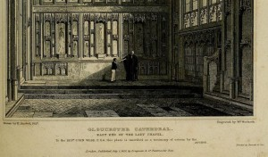 Gloucester Lady chapel (Britton 1828)
