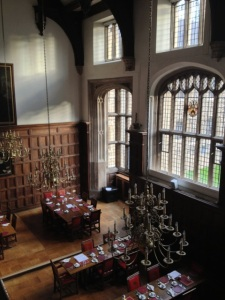 Jacobean Great Hall at Charterhouse