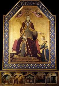 Simone Martini's Louis of Toulouse altarpiece