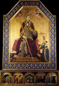 Simone Martini's Louis of Toulouse altarpiece