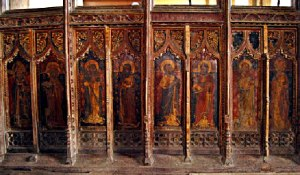 Tunstead, rood screen