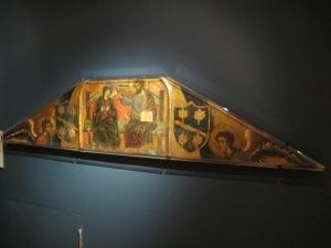 Guido da Siena, Coronation of the Virgin, Courtauld Gallery