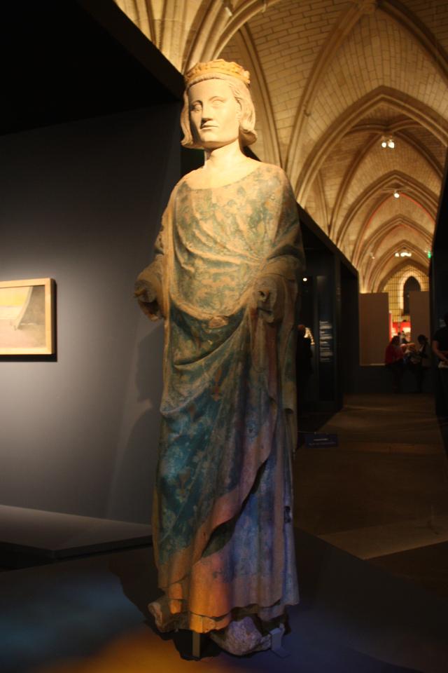Sculpture of Saint Louis, photograph taken by myself at the Saint Louis Exhibition