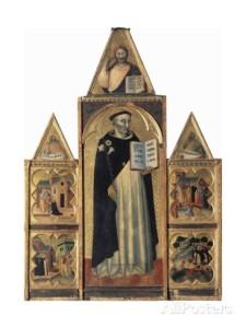 Traini - St Dominic altarpiece, 1344-5, Pisa, Museo di San Matteo