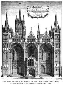 Peterborough_Cathedral_-_West_prospect_C17_-_Project_Gutenberg_eText_13618[1]