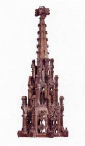 Model for a pinnacle, Valencia, c. 1442. Valencia Municipal Museum