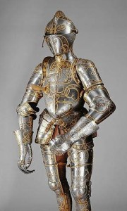German, documented 1513–1579 Equestrian Armour of Emperor Charles V