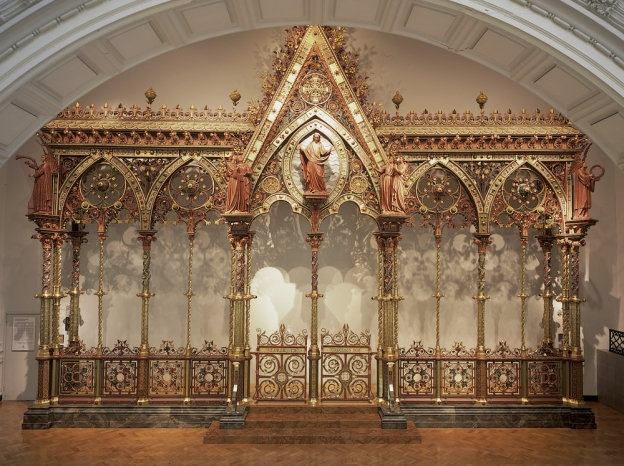 Gothic Revival Medieval Art The Hereford Screen