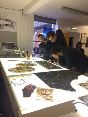 Image 6, Stained glass studio