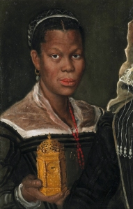 An African Slave Woman, attributed to Annibale Carracci
